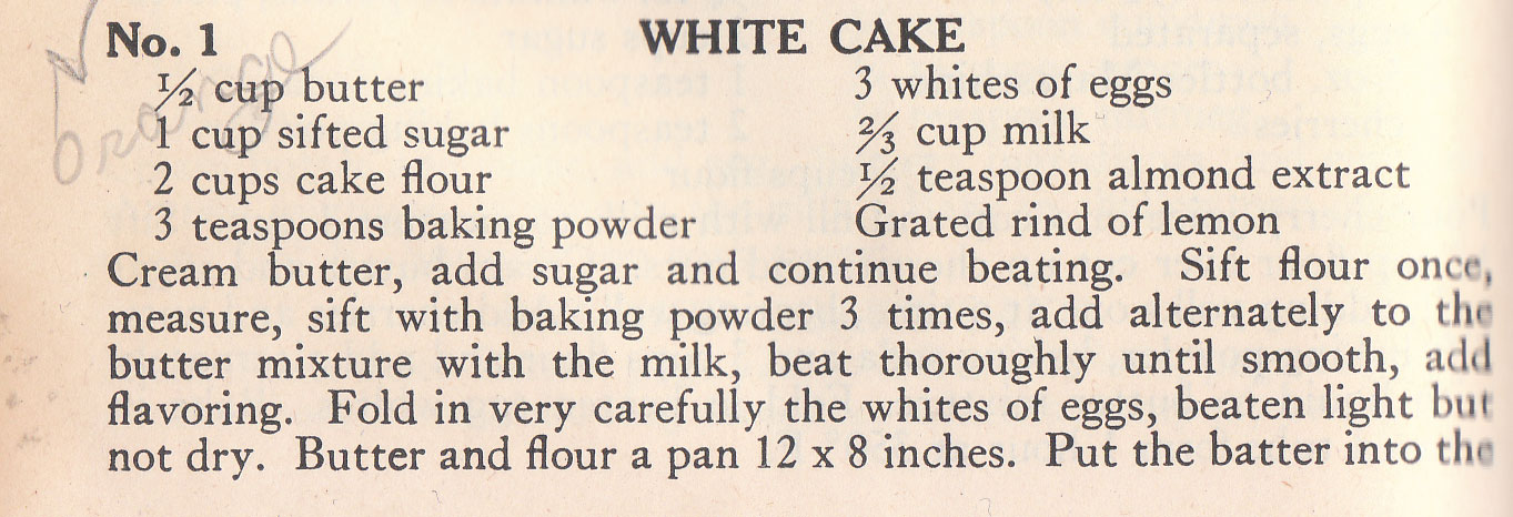 My Cake Maker Recipes List: The History Dish: My Grandma's Coconut Cake « Four Pounds