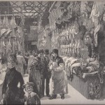 The Gallery: Washington Market, Thanksgiving Eve 1885