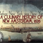 Events: A Culinary History of New Amsterdam