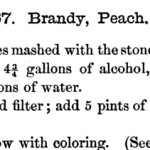History Dish Mondays: Peach Brandy