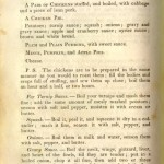Menus: Thanksgiving in 1845