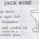 Cocktail Hour: The Jack Rose