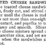 Retronovated Recipes: Grilled Cheese Sandwiches